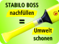 Preview: Stabilo® Textmarker BOSS® ORIGINAL 6St./Pack