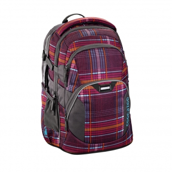 "Coocazoo Rucksack ""JobJobber"" Walk The Line Purple"