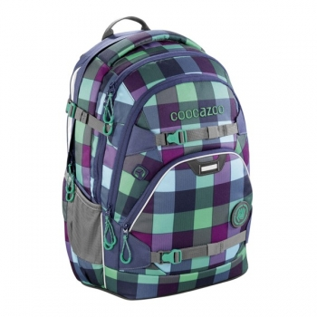"Coocazoo Rucksack ""ScaleRale"" Green Purple District"