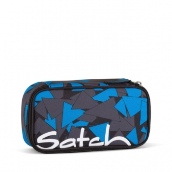 Satch Schlamperbox Blue Triangle