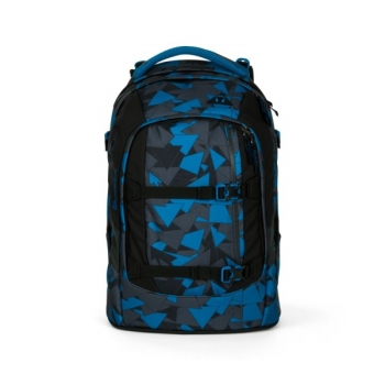 Satch Schulrucksack Pack Blue Triangle