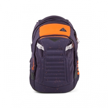 Satch Schulrucksack Match Optimus Orange