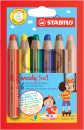 Stabilo® woody 3in1 6St./Pack